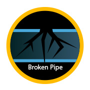 cracked pipe